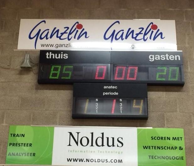 Eerste winst U14-1 tegen Basketiers